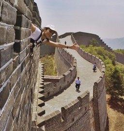 Muralla China en un maratón