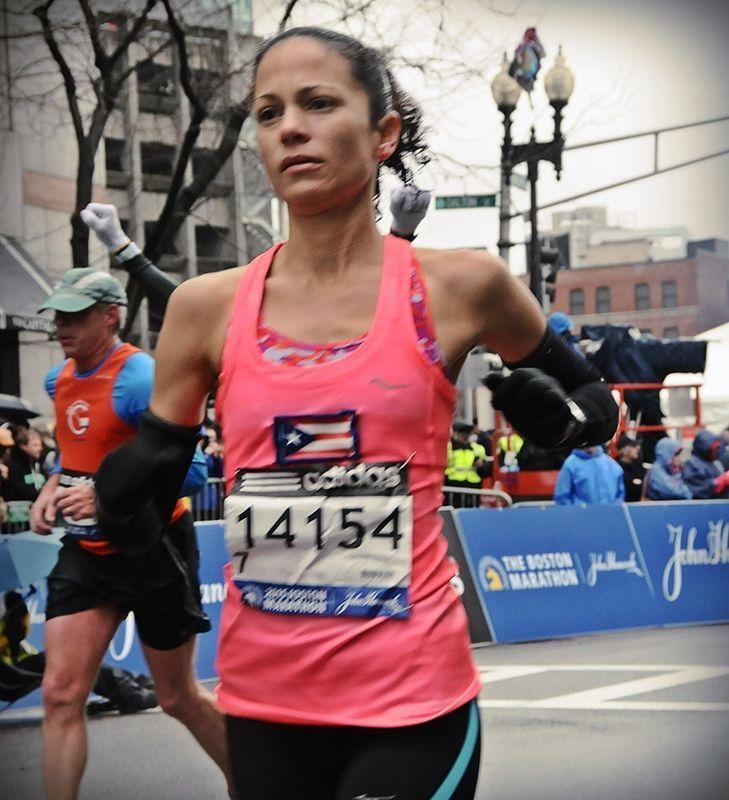 Boricua en maratón de Boston