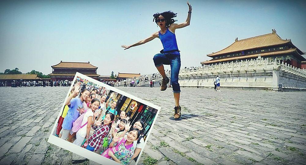 Travesía de mochilera por China