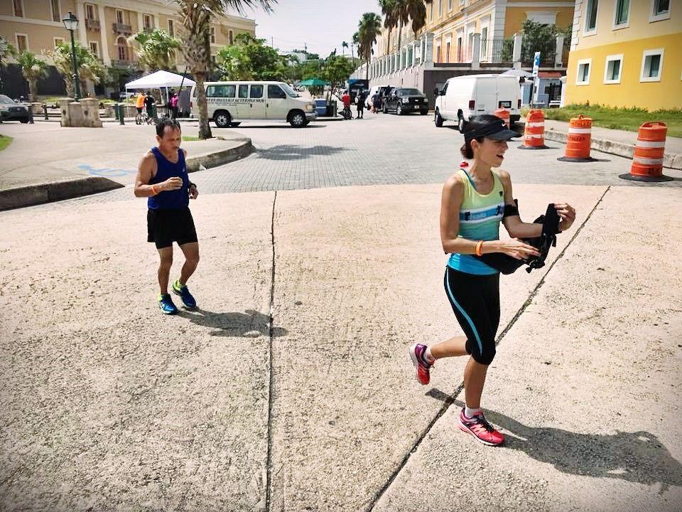 Llegando al Morro ultramaratón
