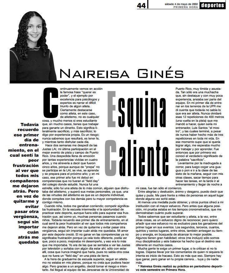 columna Nairi - querer es poder