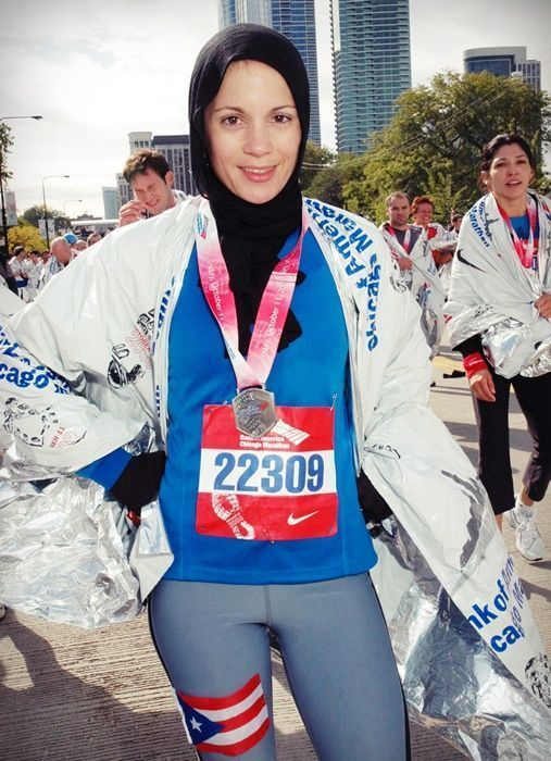 Con mi medalla de finisher