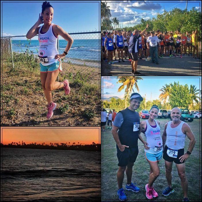 Running pueblo Guayama Puerto Rico