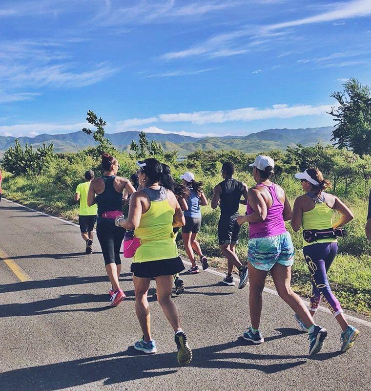 Grupo de runners para disfrutar de correr